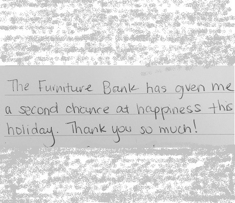 A Story of Gratitude • The Furniture Bank of Metro Atlanta The