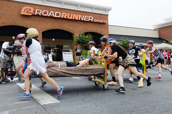 Atlanta Bed Race 2014 s • The Furniture Bank of Metro
