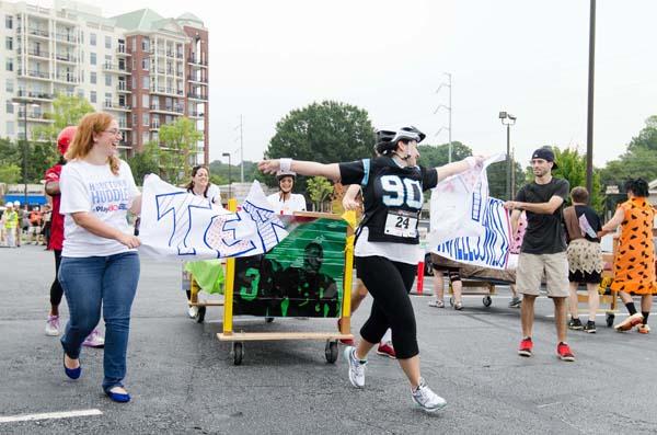 Atlanta Bed Race 2014 Photos • The Furniture Bank of Metro ...