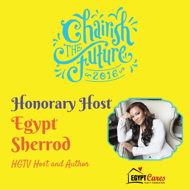Egypt Sherrod, HGTV Host & Author