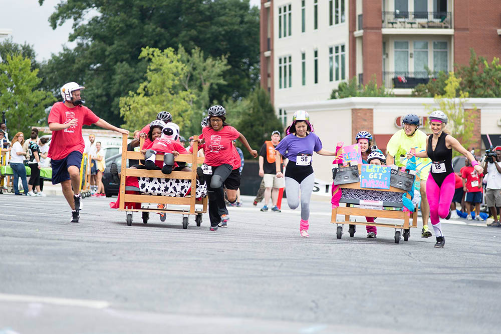 What Is The Bed Race? U2022 The Furniture Bank Of Metro Atlanta The Furniture  Bank Of Metro Atlanta